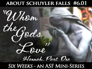 About Schuyler Falls Episode 6.01 Title Image