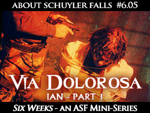 About Schuyler Falls Webserial, Episode 6.05: Via Dolorosa pt 1